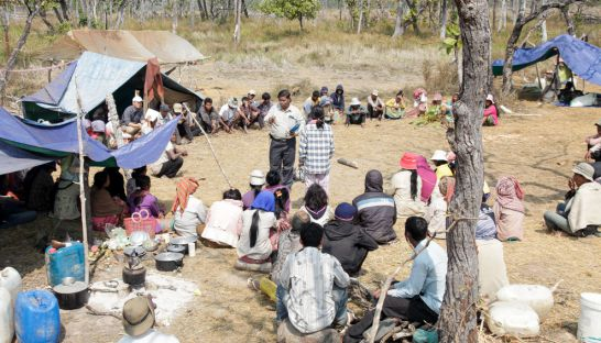 ethnic_kuoy_villagers_from_preah_vihear_gather_at_a_forest_camp_site_in_2014_for_a_meeting_to_discuss_land_rights_with_an_ngo_22_01_2014_heng_chivoan