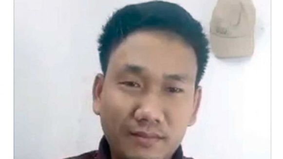 san-rotha-29-is-seen-in-a-video-posted-to-facebook-in-which-he-calls-the-government-authoritarian.-he-was-arrested-over-the-video-on-thursday-in-kampong-cham.-facebook